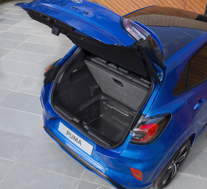 Ford Puma Boot Space