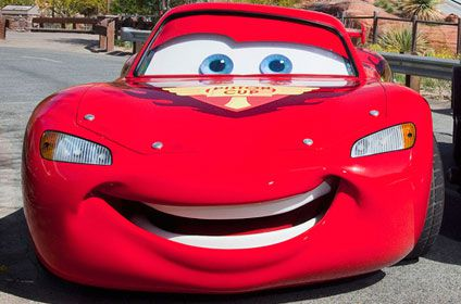 Lightening McQueen from Cars the Movie
