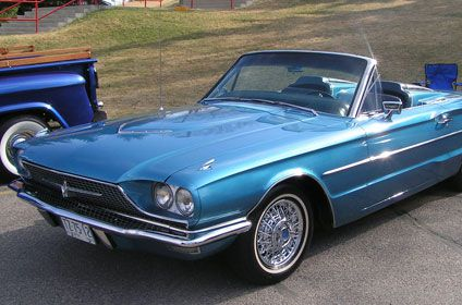 Blue car from Thelma and Louise