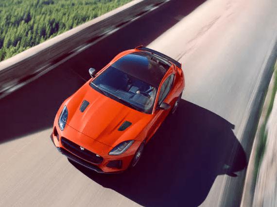 Jaguar F Typr organge top