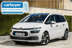 Carbuyers Best Seven-Seater of 2017, the Citroën Grand C4 Picasso