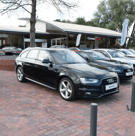 Audi Approved Used at Crewe Audi