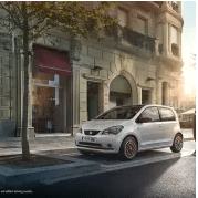 SEAT Mii in European city
