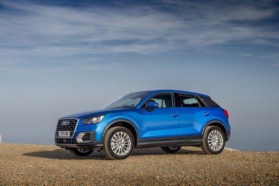 Blue Audi Q3 SUV
