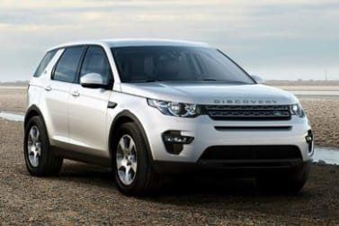 Land Rover Discovery Sport white front