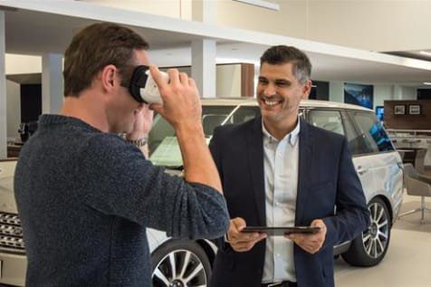 Virtual reality at Jaguar Land Rover