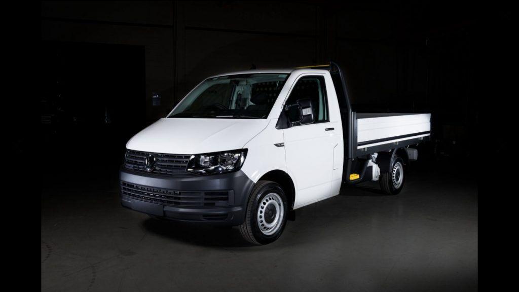 VW Transporter pick up truck