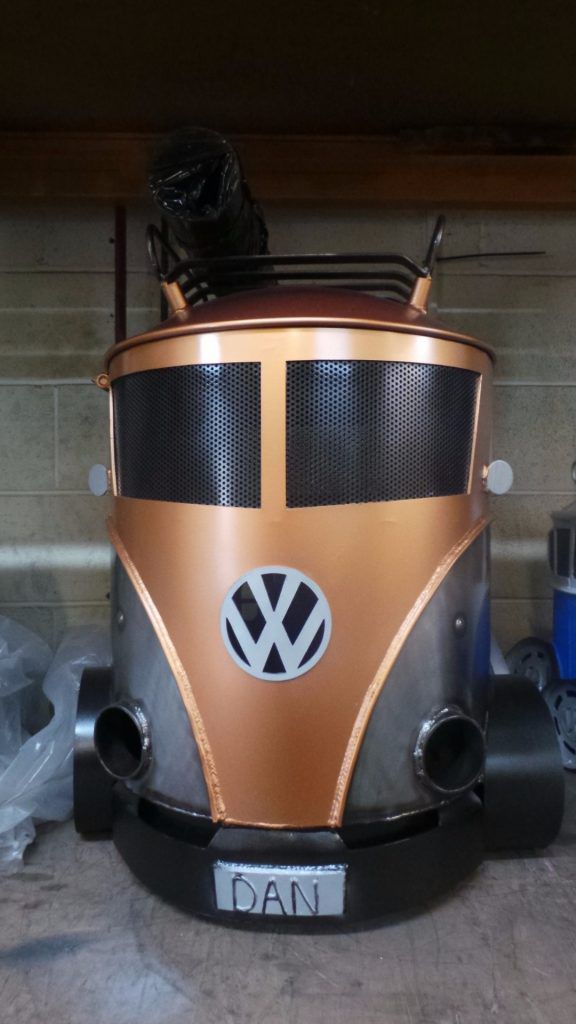 VW Campervan bbq and smoker