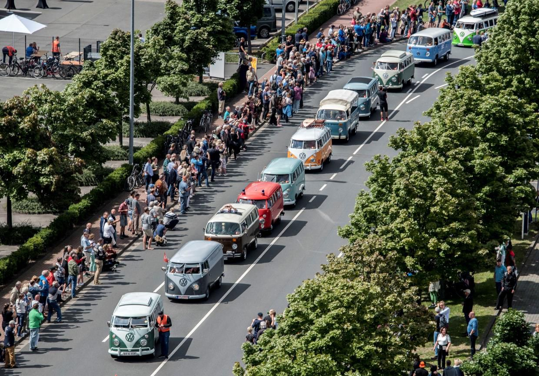 VW Camper van parade