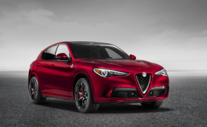 Alfa Romeo Stelvio in Red
