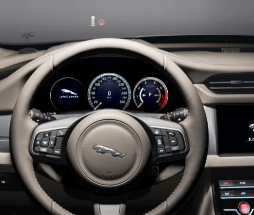steering wheel from the Jaguar XF Sportbrake
