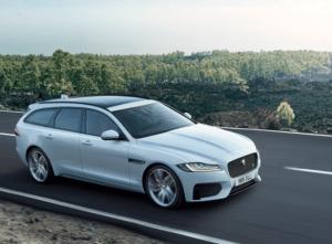 Jaguar XF Sportbrake in white