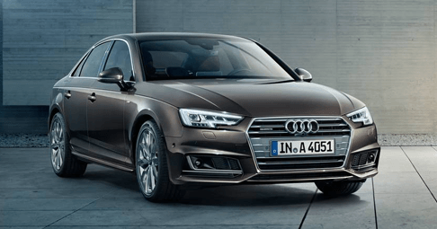 Audi A4 Saloon in brown