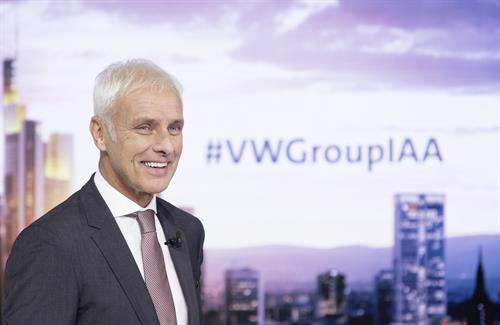 VW Group IAA announcement