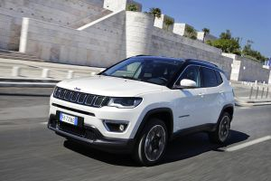 Jeep Compass in white