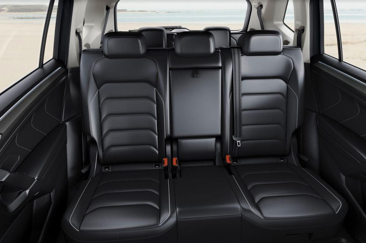 Leather rear car seats