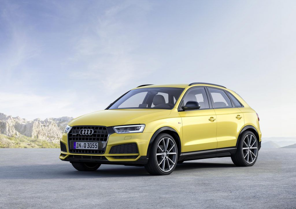 Audi Q3, contender for best SUVs