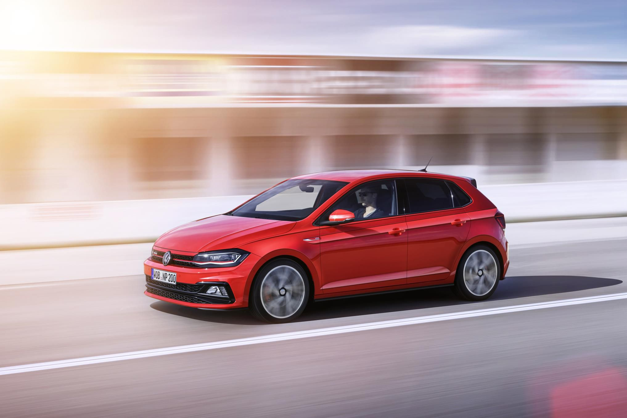 New Polo Gti in Red