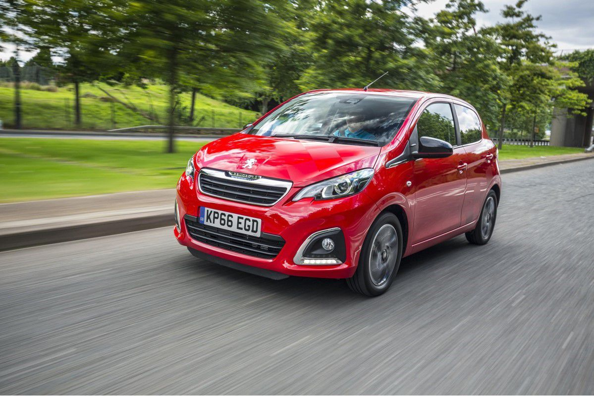 Red Peugeot 108 used car for sale
