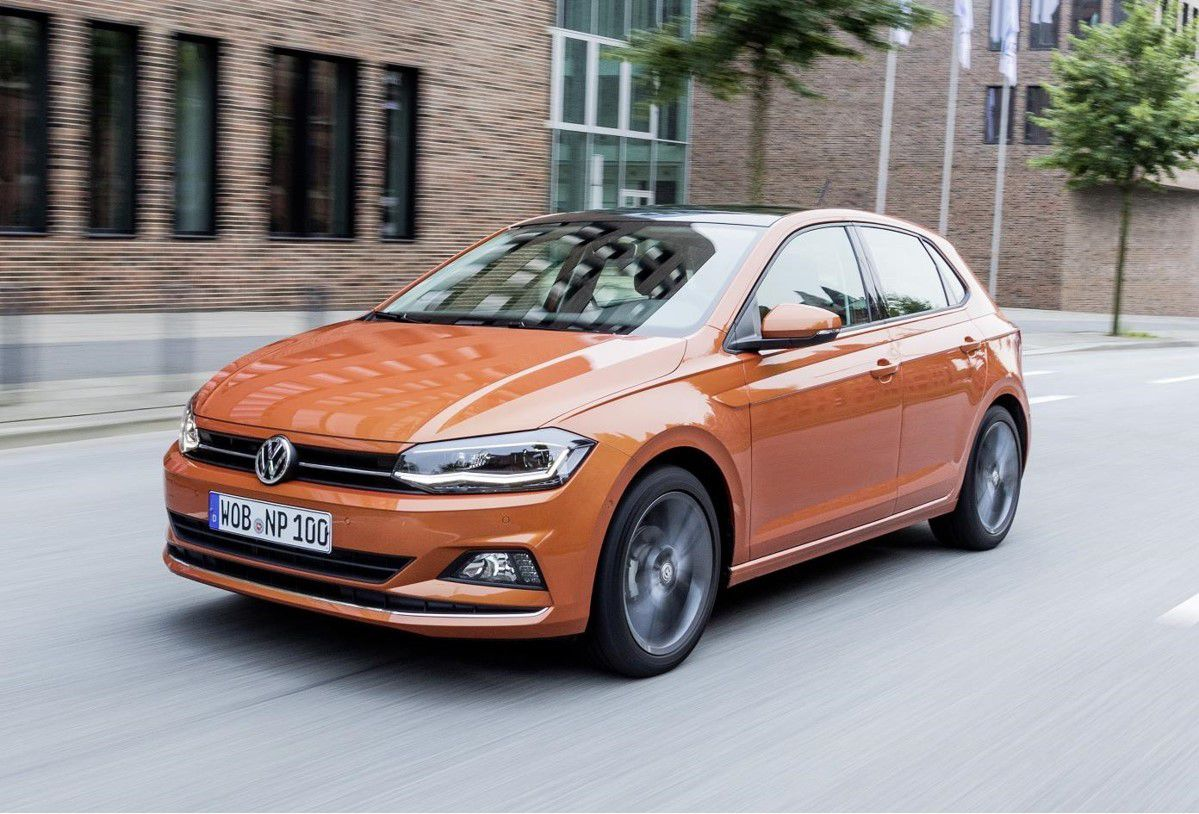 Orange Volkswagen Polo coming in January 2018