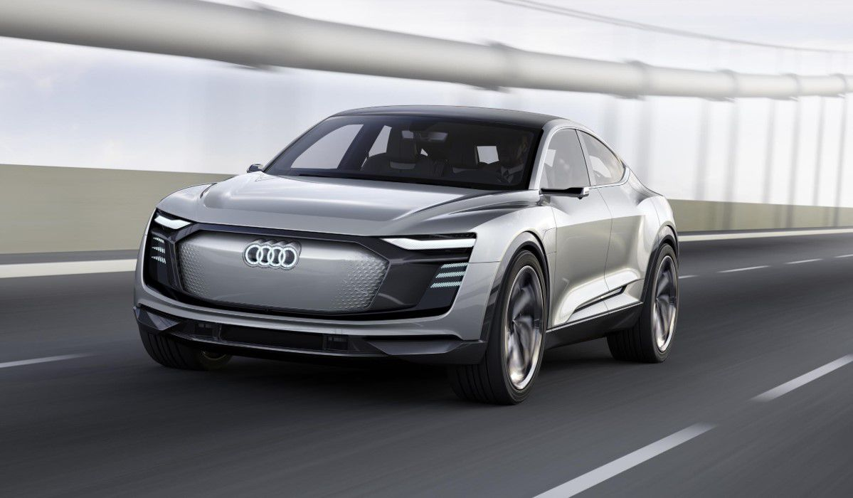 Audi E-Tron concept car takes to the road before launch of this all-electric vehicle