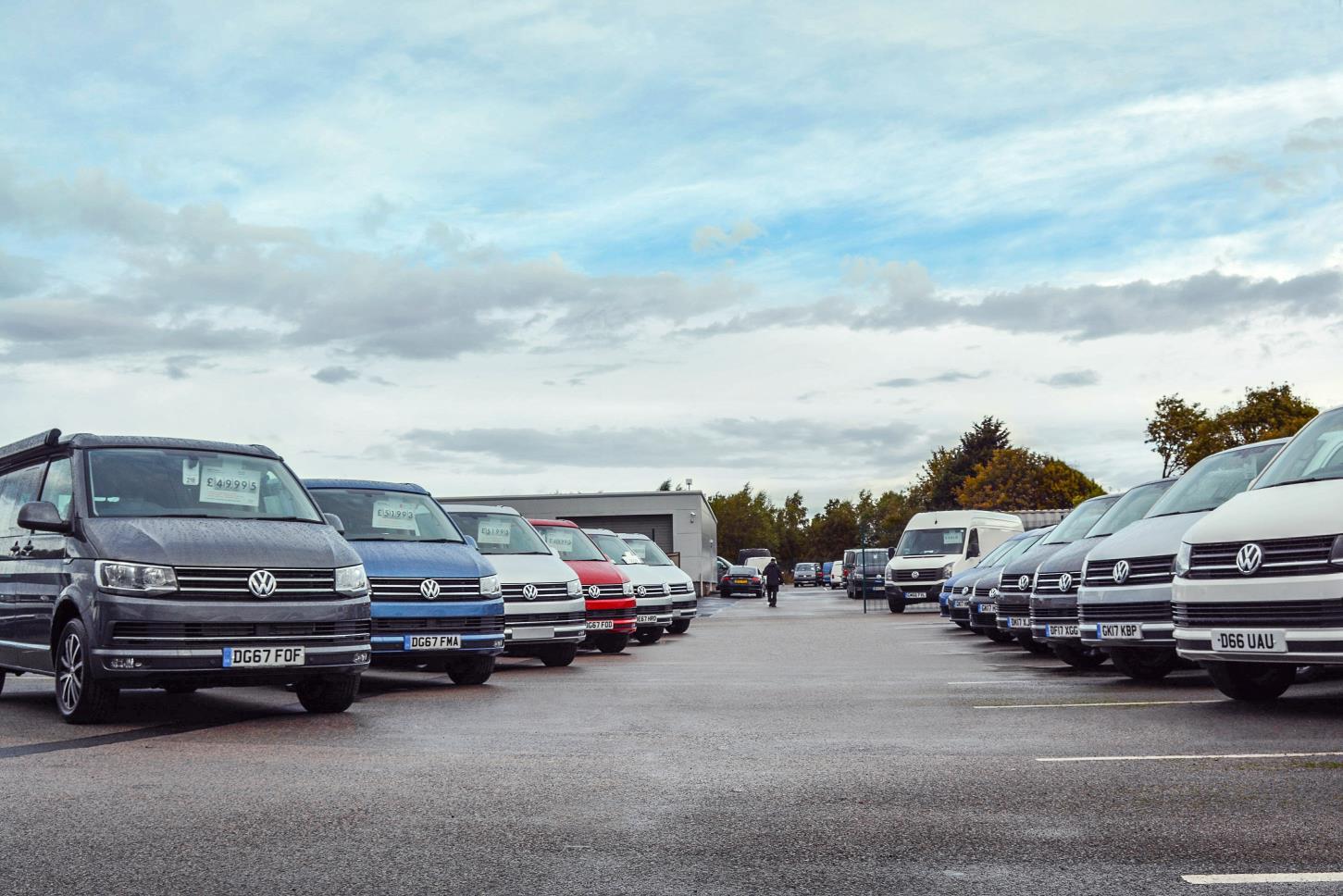 Volkswagen used vans for sale at Liverpool VW Van Centre