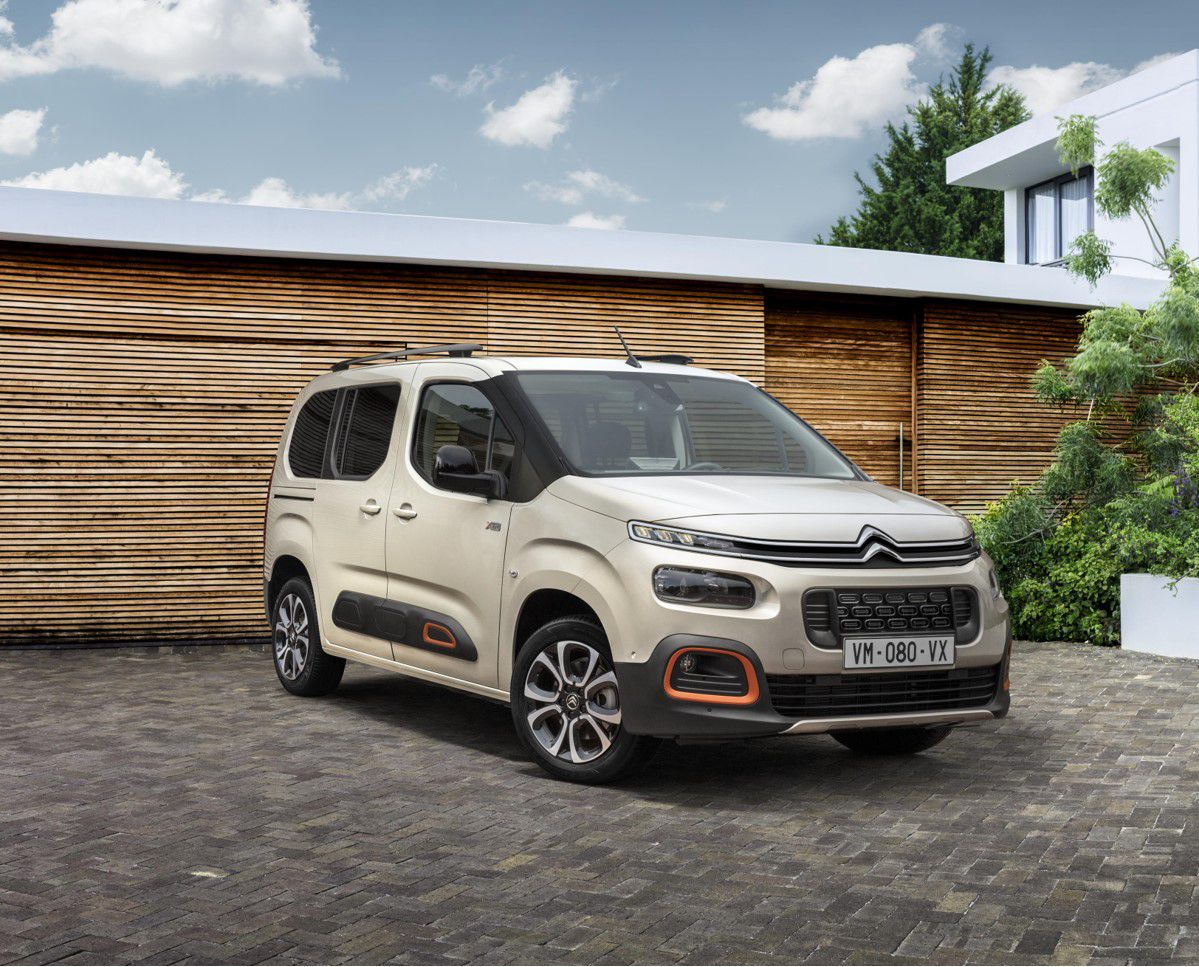 The Citroen Belingo Multispace may not be the prettiest car but it's super practical