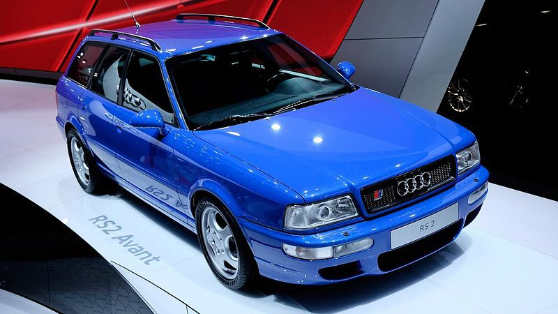 The original Audi RS model the RS 2 Avant
