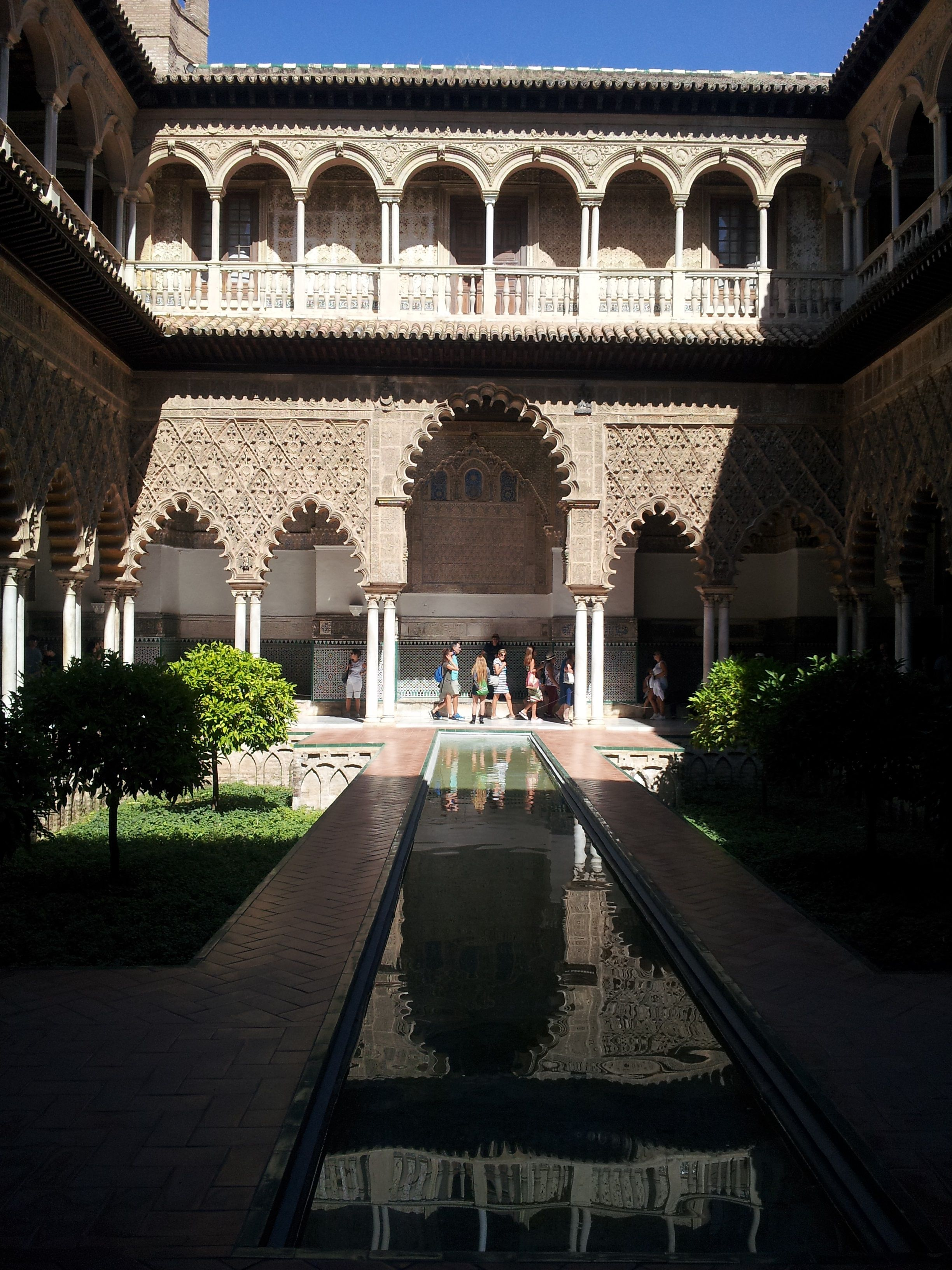 The Alhambara at Granada, Spain