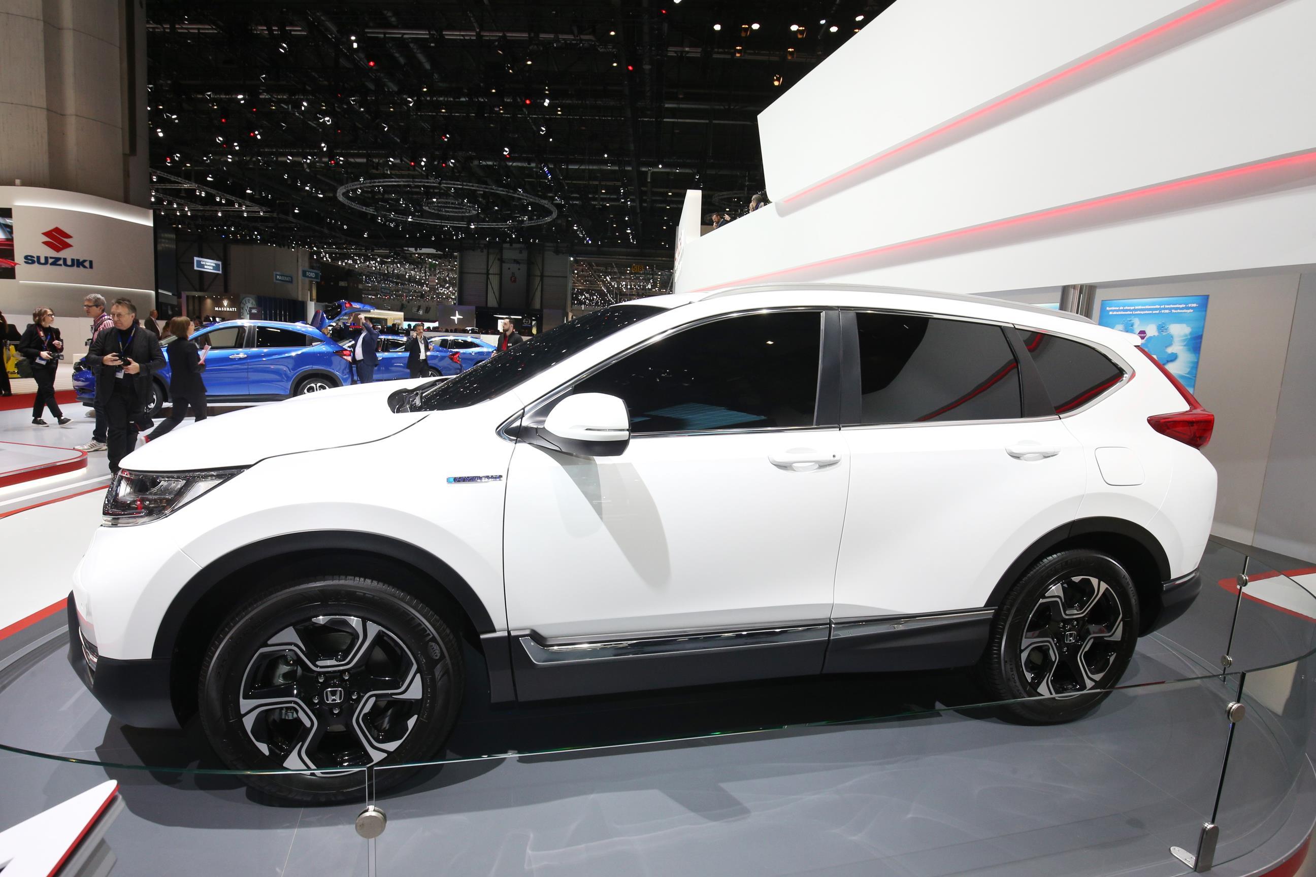 The new Honda CR-V debuts at Geneva Motor Show