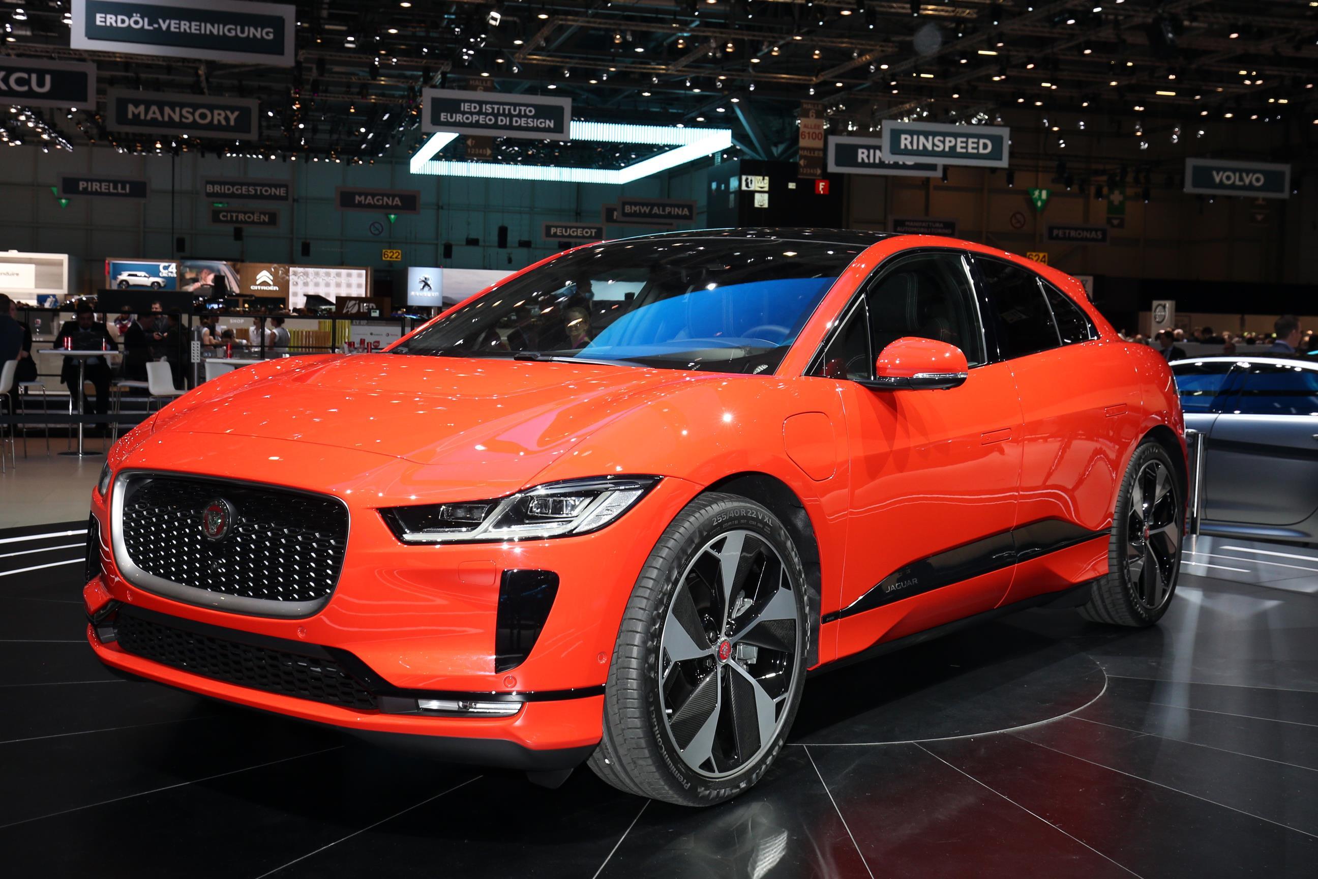 Beautiful new Jaguar I-PACE debuts at the Geneva Motor Show