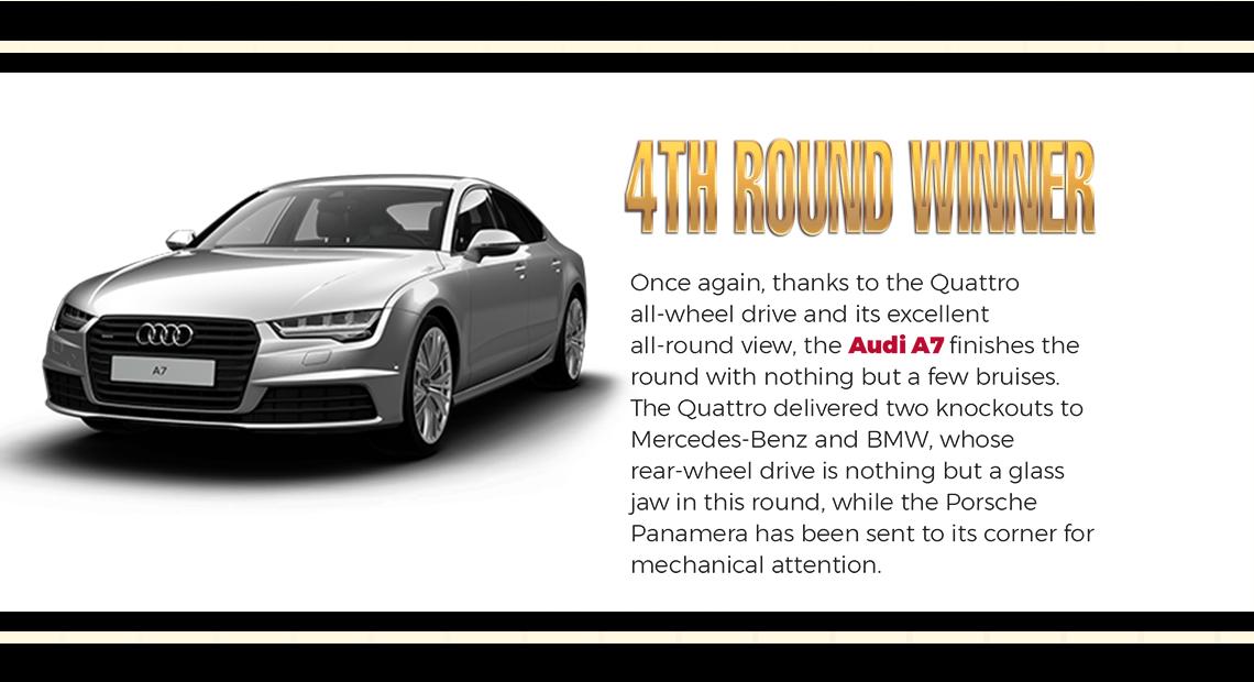 4th Round Winner Audi A7