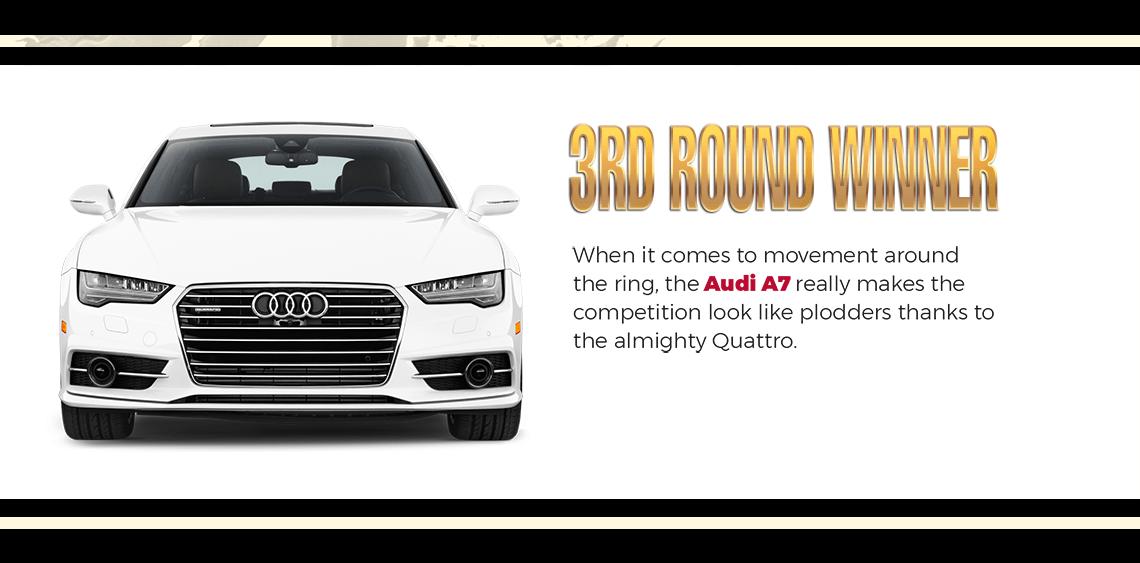3rd Round Winner Audi A7