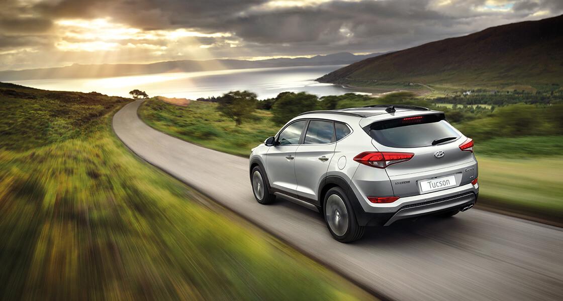 Ireland's favourite car the Hyundai Tucson